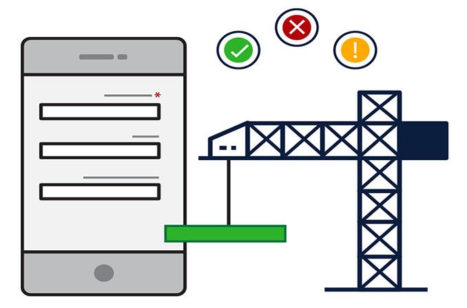 10 قانون کاربردپذیری فرمها در موبایل