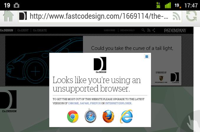 اشتباهات رایجی که طراحان وبسایت، در هنگام طراحی موبایل با آنها مواجه می شوند