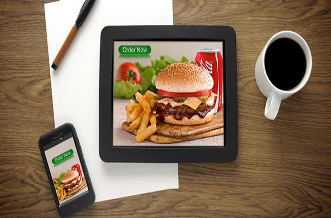 طراحی اپلیکیشن رستوران و کافی شاپ و فست فود