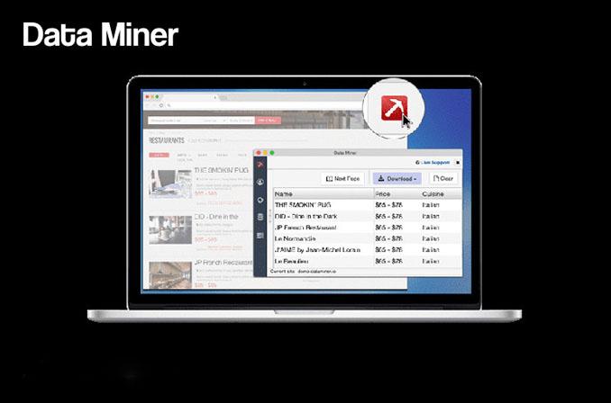 Data Miner: ابزاری برای استخراج دیتا از وبسایتها