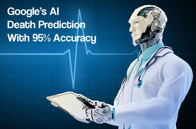 توانایی هوش مصنوعی گوگل در تشخیص مرگ بیماران با دقت ۹۵٪