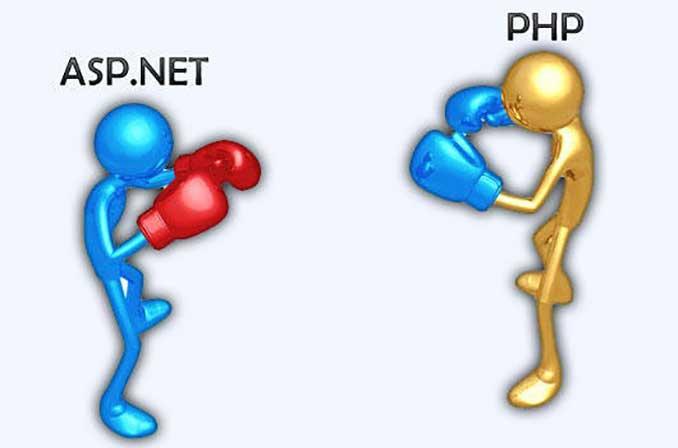 برای طراحی وب سیات خود از PHP استفاده کنیم یا ASP