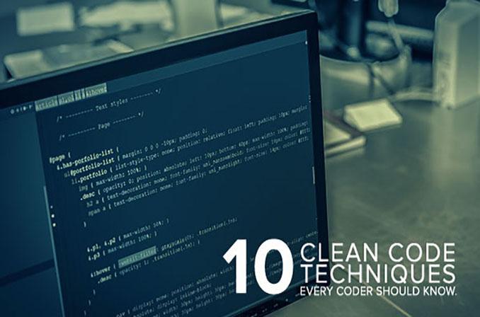 10 تکنیک کدنویسی تمیز که هر برنامهنویسی باید بداند
