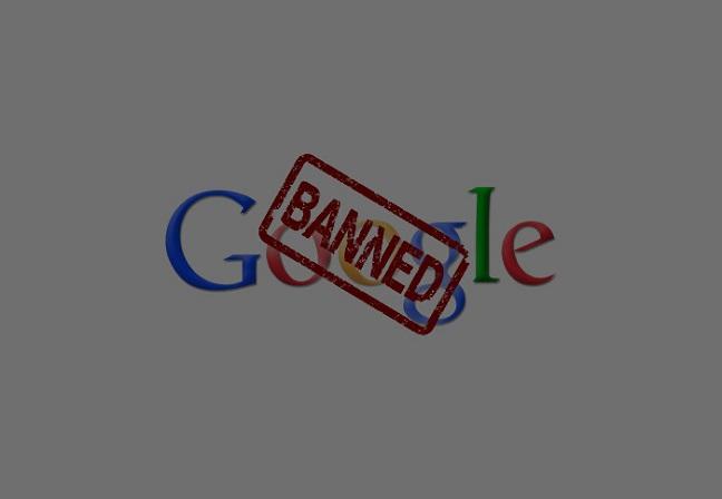 نرمافزارهایی که استفاده از آنها در گوگل غیرمجاز است